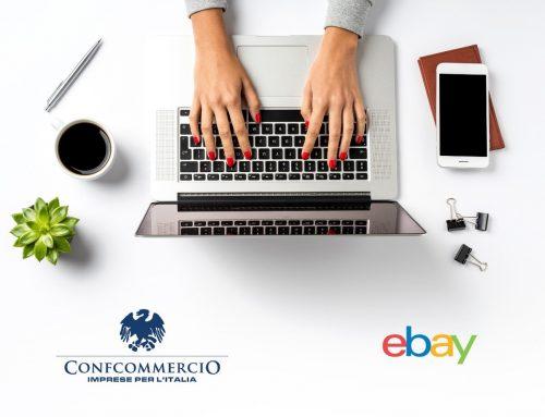 E-commerce, rinnovato l'accordo Confcommercio-Ebay