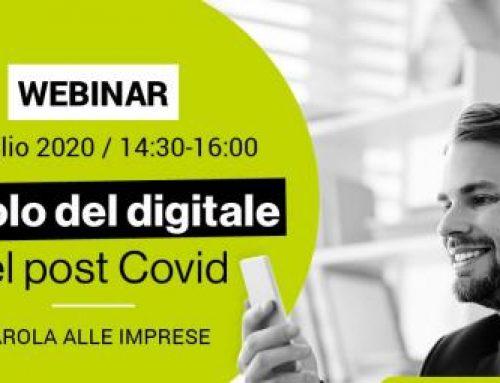 """""""Il ruolo del digitale nel post-Covid"""", il nuovo webinar gratuito Edi"""